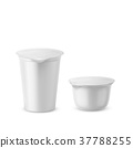 yogurt, plastic, packaging 37788255