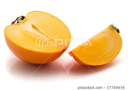 Persimmon sharon isolated on white 37789656