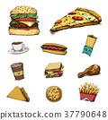 食物 食品 披薩 37790648