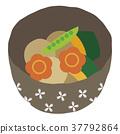 燉 開水焯過的食物 日本料理 37792864