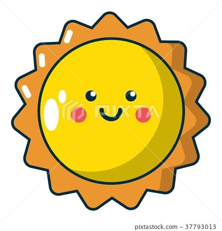 Sun icon, cartoon style - Stock Illustration [37793013] - PIXTA