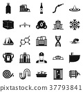 water supply icons 37793841