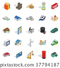 investing, business, icons 37794187