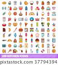 100, kitchen, icons 37794394