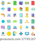 web, icon, cartoon 37795167