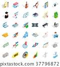 job, contract, icon 37796872