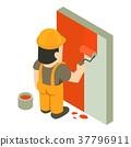 builder, painter, icon 37796911