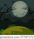 scene, scary, background 37797172