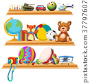 toy toys shelves 37797607