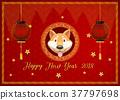 dog lantern new 37797698