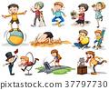 People doing different activities 37797730