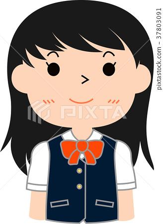 Girl student honor student 37803091