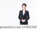 女性白領 一個年輕成年女性 女生 37806389