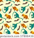 dinosaur, pattern, cartoon 37806436