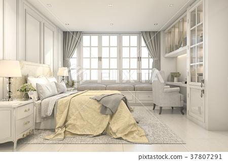 beautiful vintage and classic kid bedroom 37807291