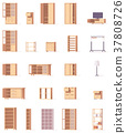 Vector cabinets set 37808726