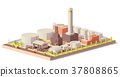 vector, oil, refinery 37808865