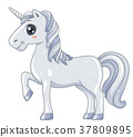 Animal White Unicorn 37809895