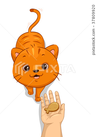 Cat Hand Treat Biscuit 37809920