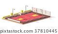 vector, basketball, outdoor 37810445