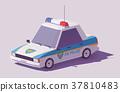 向量 向量圖 警車 37810483