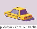 vector, taxi, car 37810786