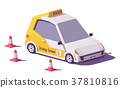 vector, driving, school 37810816