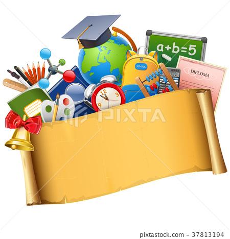 Vector School Graduation Concept 37813194