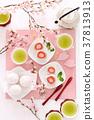 草莓大福櫻花茶時間 37813913