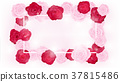 top view valentine floral invitation rounding 37815486