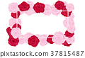 top view valentine floral invitation rounding 37815487