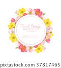 floral, invitation, wedding 37817465