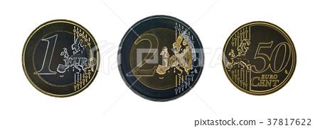 Set of euro coins 37817622