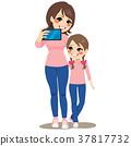 Mother Daughter Selfie 37817732