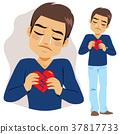 Man Broken Heart 37817733