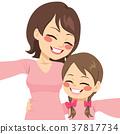 Mother Daughter Selfie 37817734