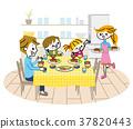 家庭餐桌 37820443