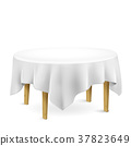 table with tablecloth 37823649