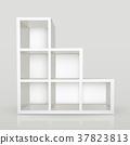 blank modern bookcase 37823813