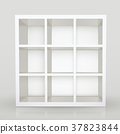 blank modern bookcase 37823844