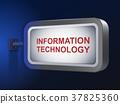 information technology words on billboard 37825360