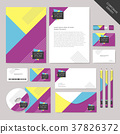 vector abstract corporate identity set graphic design 37826372