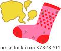 Smell of socks mother 37828204