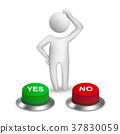 3d human character choosing 37830059