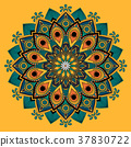 Decorative Mandala ornament 37830722