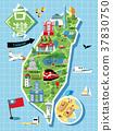 Taiwan travel map 37830750