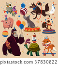 Circus animals set 37830822