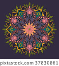 Decorative Mandala ornament 37830861