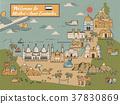 UAE travel concept map 37830869