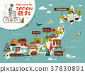 Japan travel map 37830891